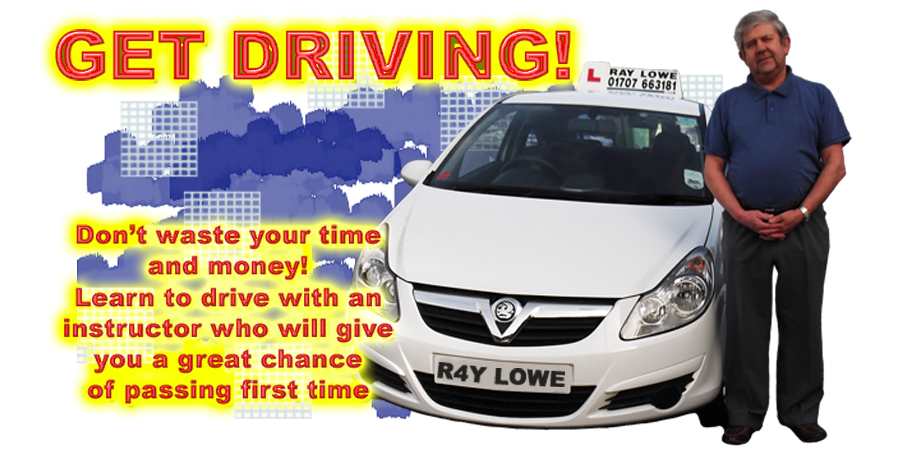 Driving lessons with Ray Lowe School Of Motoring